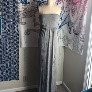 Dresses & Skirts - Jersey Knit Backless Maxi Dress
